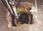 Sump pumps fail often and are not aesthetically pleasing.