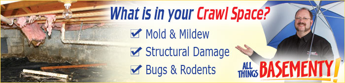 Crawl Space Repair in ON, including Kitchener, Burlington & Hamilton.