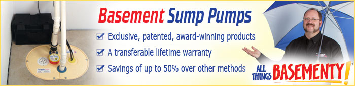 Sump Pump Installation in ON, including Hamilton, Burlington & Oakville.