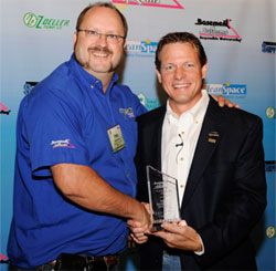 Omni Basement Systems' Wins Top Canadian Basement Systems Contractor Award