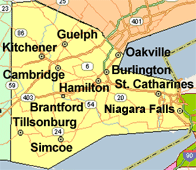 Our Ontario Service Area
